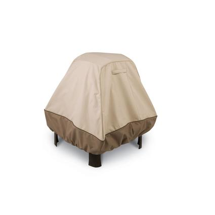 Fire Pit Covers-X-Large Stand-Up Fire Pit Cover