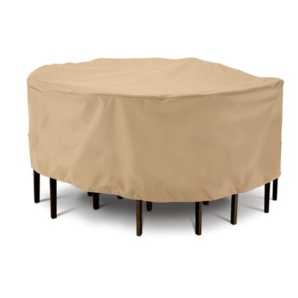 Terrazzo Collection Patio Furniture Covers-Medium Round Table & Chair Cover