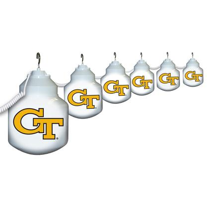 Collegiate Patio Globe Lights, 6 light sets-Georgia