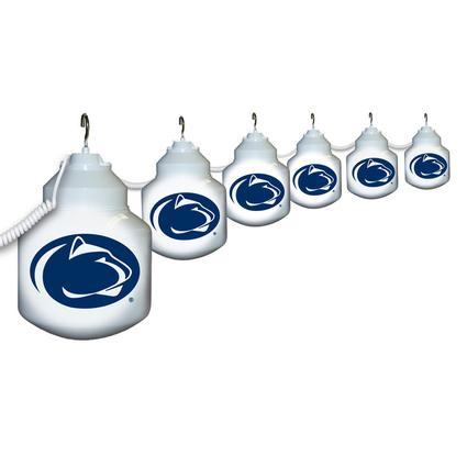 Collegiate Patio Globe Lights, 6 light sets-Penn State