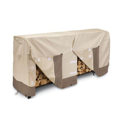 Patio Log Rack Covers-Fits 4' log racks