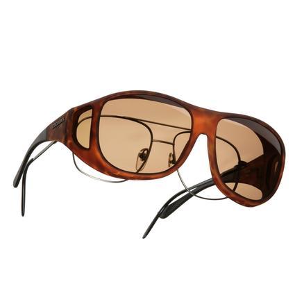 Cocoons OveRx Sunglasses - Tortoise Frame/Amber Lenses