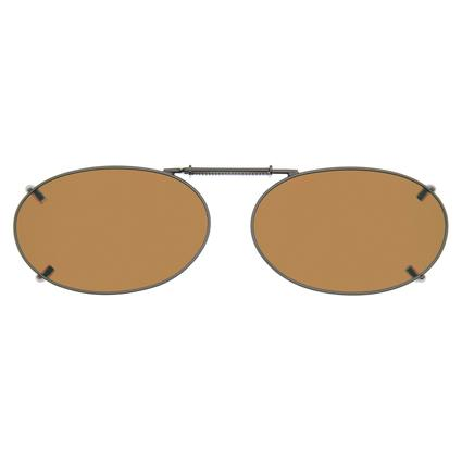 Cocoons OveRx Clip-On Sunglasses - Amber Lenses