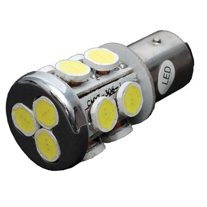 LED Multidirectional Radial Tower Bulb with BAY15D Double Contact.