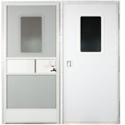 Square Door-RH-26X72 - Polar White