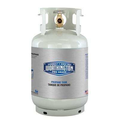 Refillable Steel Propane Cylinders-11 lb. / 2.6 gal.