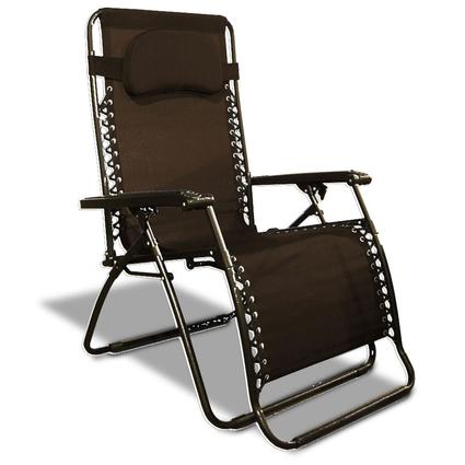 Oversized Zero Gravity Recliner, Brown
