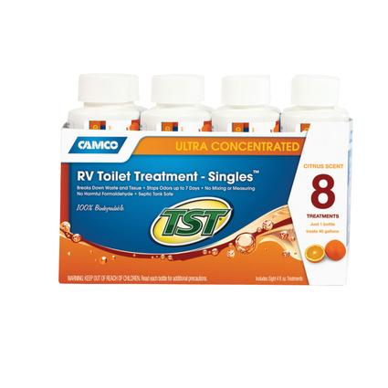 TST Orange Ultra Concentrated RV Toilet Treatment, 8-Pack