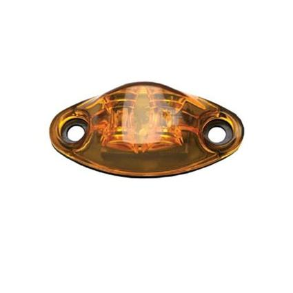 Weatherproof LED Marker Light , 2 diode, Amber