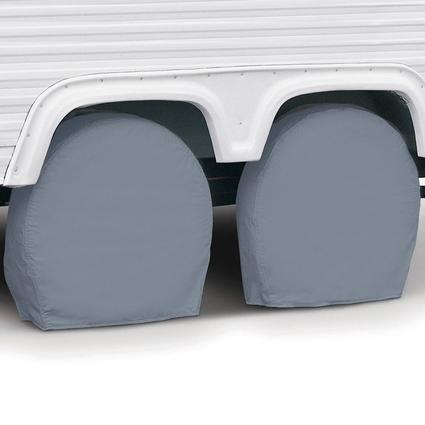 Overdrive RV Tire Covers, Pair - Tire diameter 24