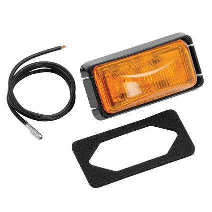 Waterproof/Sealed Clearance/Side Marker Lights #37 Series- Amber