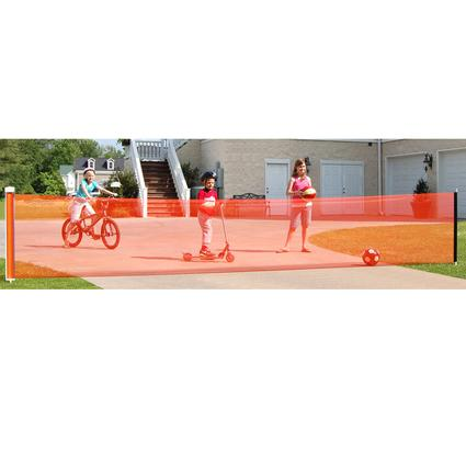 Retractable Driveway Safety Net-25 ft