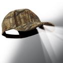 4 LED Baseball Cap - Camo