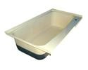 RV Bath Tub Right Hand Drain TU600RH - Colonial White