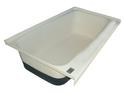 RV Bath tub Right Hand Drain TU700RH - Polar White