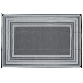 Reversible Striped Design Patio Mat, 9u0027x12u0027