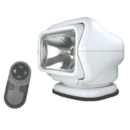 GoLight Stryker Permanent Mount Model with Wireless Hand-Held Remote White