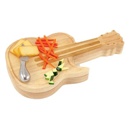 Guitar Cheese Tray