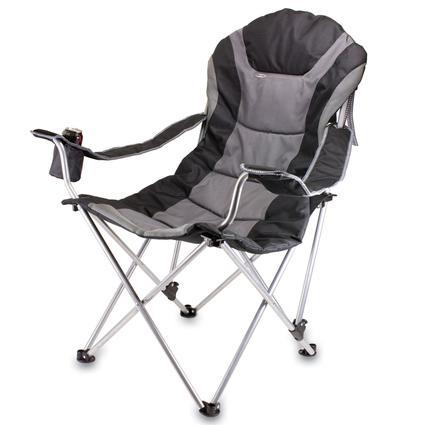 Reclining Camp Chair- Black