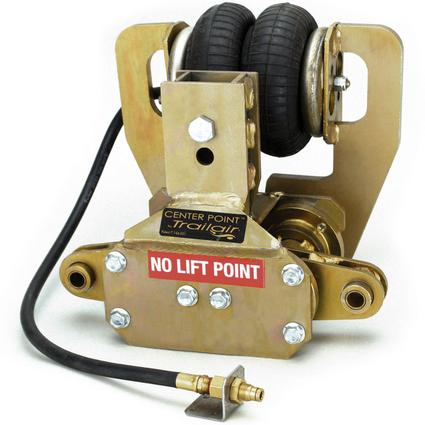 Center Point Air Ride Suspension System