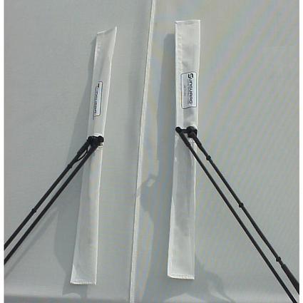 Sunguard Wiper Savers, 2-Pack - White