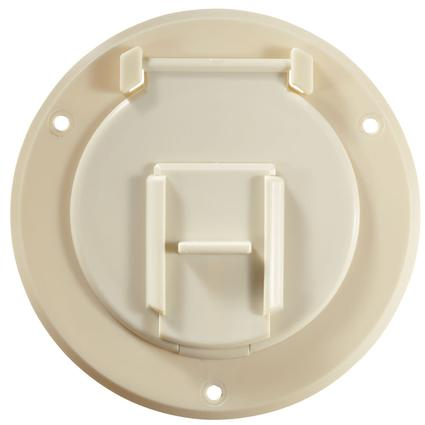 Electrical Cable Hatch - Colonial White