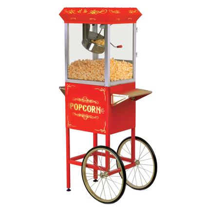 Elite Old Fashioned Popcorn Trolley