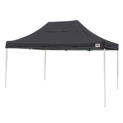 10X15 Pro Series Straight Leg Canopy - Black