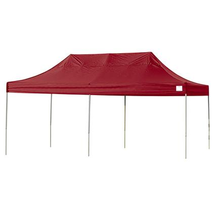 10X20 Pro Series Straight Leg Canopy - Red