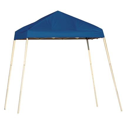 8X8 Sports Series Slant Leg Canopy - Blue