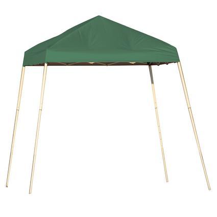 8X8 Sports Series Slant Leg Canopy - Green