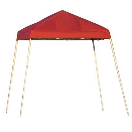 8X8 Sports Series Slant Leg Canopy - Red