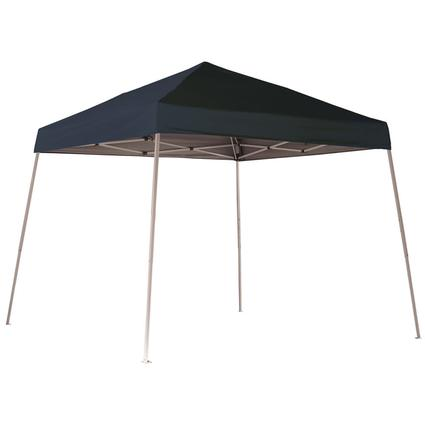 10X10 Sports Series Slant Leg Canopy - Black