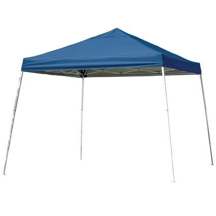 12X12 Sports Series Slant Leg Canopy - Blue