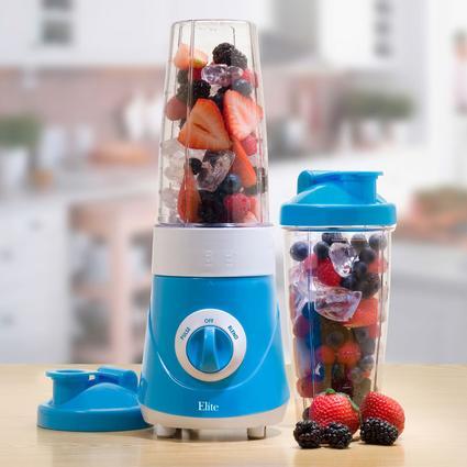 Elite Cuisine Personal Drink Mixer - Blue