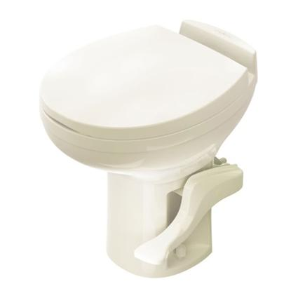 Aqua-Magic Residence High Profile Toilet with Water Saver Spray - Bone