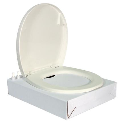 Residence Toilet Seat Cover Kit - White