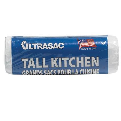 Ultrasac Trash Bags - 13 gallon, 18 bag roll