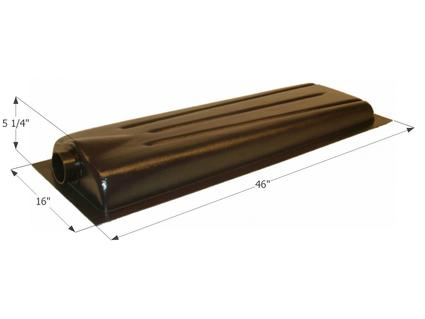 Holding Tank Center End Drain HT706AED - Tank & 3