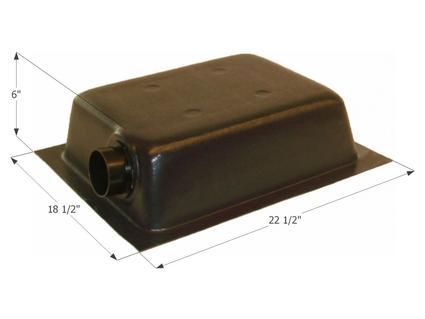 Holding Tank Left End or Bottom Drain HT630ED - Tank, 3
