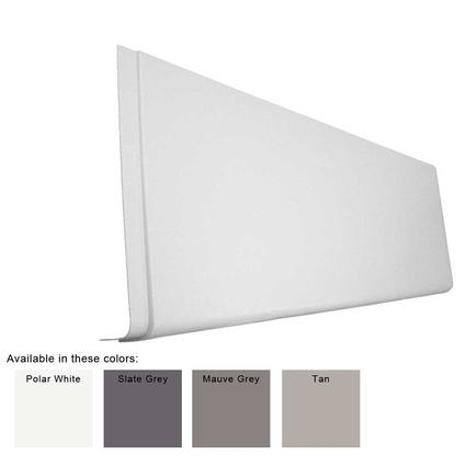 J-Wrap Panel Skirting - Polar White