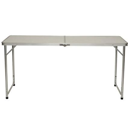 5' Fold 'n Half Aluminum Table