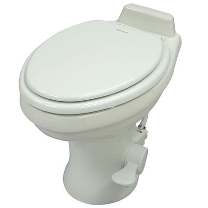 Dometic High Profile 320 Series Gravity Discharge Toilets - White