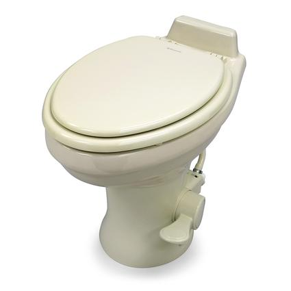 Dometic High Profile 320 Series Gravity Discharge Toilets - Bone