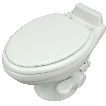 Dometic Low Profile 320 Series Gravity Discharge Toilets - White