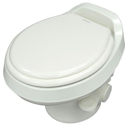 Dometic Low Profile 300 Gravity Flush Toilet - White