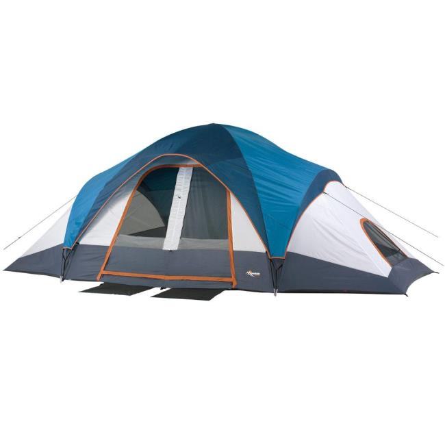 Image Mountain Trails Grand Pass 10 Person Family Dome Tent. To Enlarge the image  sc 1 st  C&ing World & Mountain Trails Grand Pass 10 Person Family Dome Tent - American ...