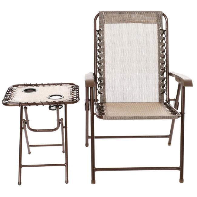 Image Amberwood Mesh Chair U0026 Table Set. To Enlarge The Image, Click Or  Press .