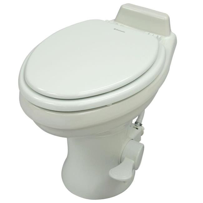 Dometic High Profile 320 Series Gravity Discharge Toilets - White ...
