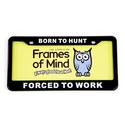 License Plate - Born to Hunt